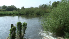 Sluice Gates by Southcote Mill Reading 01 - stock footage