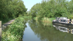 Kennet & Avon canal 01 Stock Footage