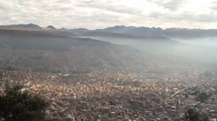 MEDELLIN LARGE VIEW - stock footage