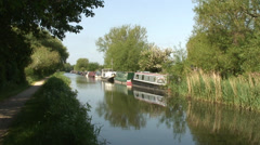 Kennet & Avon canal 02 Stock Footage