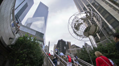 Columbus Circle in NYC Stock Footage