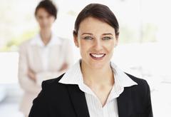 Stock Photo of Smiling businesswoman portrait