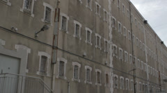 PRISON BUILDING FRANCE - WIDE # 2 - stock footage