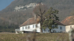 HOUSE IN COUNTRYSIDE FRANCE Stock Footage