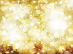 Golden Abstract holiday background Stock Photos