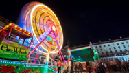 Stock Video Footage of Dresdner Stadtfest Timelapse