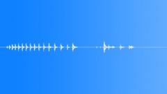 wooden door creak, short 4 - sound effect