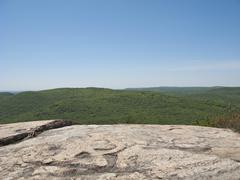 Stock Photo of USA, New York State, mountain ridge