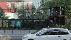 PARIS - MUSEUM QUAI BRANLY # 2 - stock footage