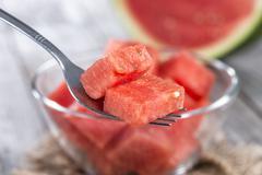 Stock Photo of fresh watermelon
