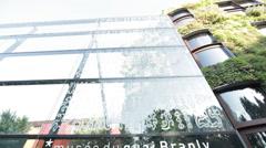 PARIS - MUSEUM QUAI BRANLY # 3 - stock footage