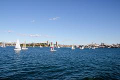 Sydney Harbor - stock photo