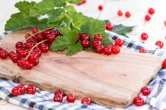 Stock Photo of heap of red currants