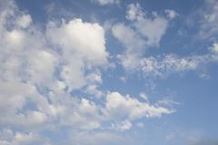 Stock Photo of Cumulus clouds
