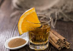 tequila gold - stock photo