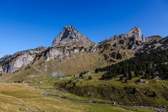 Pic du Midi d'Ossau - stock photo