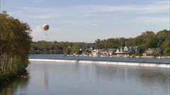 Philadelphia Schuylkill River Stock Footage