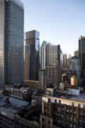 USA, New York, New York City, Manhattan skyline - stock photo
