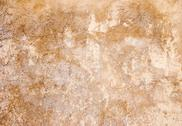 Stock Photo of gray, yellow-red plaster texture