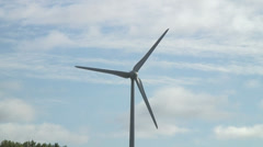 Wind turbine Greenpark Reading Kybes Ln 01 Stock Footage