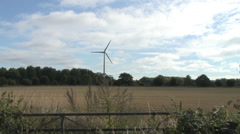 Wind turbine Greenpark Reading Kybes Ln 02 Stock Footage