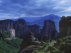 Mountain cliffs Stock Photos