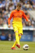 Gerard Pique of FC Barcelona - stock photo