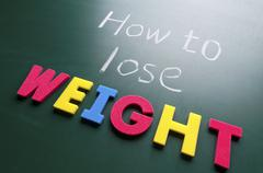 How to lose weight Stock Photos