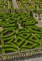 Stock Photo of Villandry castle in Val de Loire