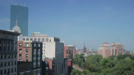 Stock Video Footage of Boston Massachusetts Skyline Timelapse