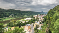 Stock Video Footage of Bad schandau Timelapse