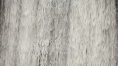 Close-up shot of waterfall - stock footage