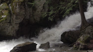 Stock Video Footage of BX falls spring runoff slo mo