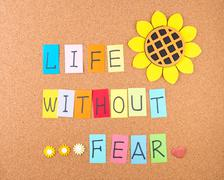 life without fear - stock photo