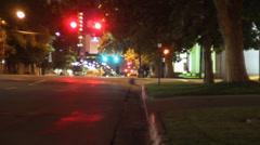Time Lapse City street Stock Footage