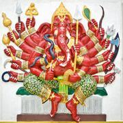 India god ganesha or god of success Stock Photos