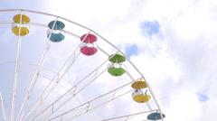Maailmanpyörä, huvipuisto ratsastaa Arkistovideo
