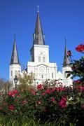 USA, Louisiana, New Orleans, St. Louis Cathedral Kuvituskuvat