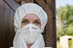 Forensic scientist Stock Photos