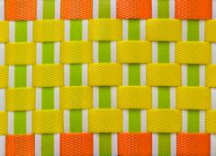 plastic weave texture - stock photo