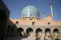 Beautiful jame abbasi mosque, isfahan, iran Stock Photos