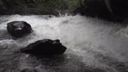 Stock Video Footage of BX falls spring runoff true 240FPS slo mo, wide shot