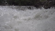 Stock Video Footage of BX falls spring runoff, true 240FPS slo mo, base of falls