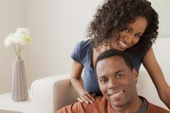 Stock Photo of Smiling mid adult couple together
