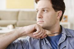 Stock Photo of Portrait of mid adult man