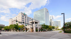 Embassy Suites Downtown Orlando FL Stock Footage