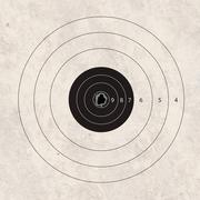 Stock Illustration of shoot target accuracy focus