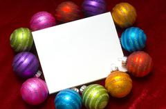 Stock Photo of christmas bauble or ball background