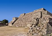 Stock Photo of Mexico, Oaxaca, Monte Alban, pre-Columbian archaeological site, built 600 BC by