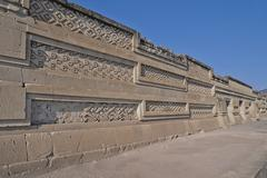 Mexico, Oaxaca, Oaxaca, Mitla, religious pre-Columbian archaeological site, Stock Photos